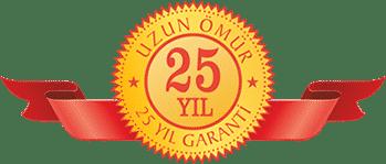 Tam 25 yıl garantili gergi tavan sadece Gerrmax Gergi Tavandır.