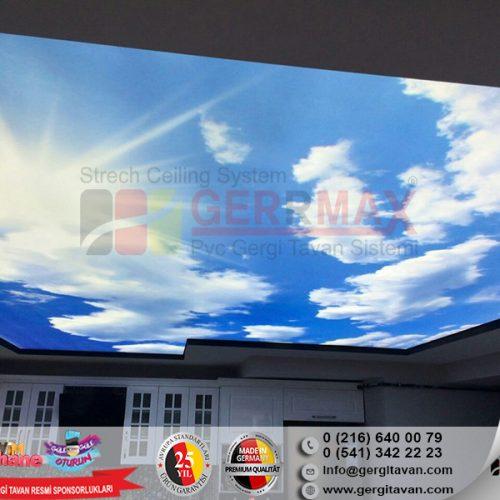 Dijital Baskı Gergi Tavan