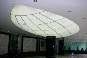 3D Form Gergi Tavan 1