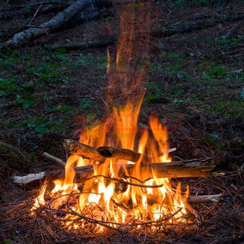 Ateş – Alev Gergi Tavan Görselleri