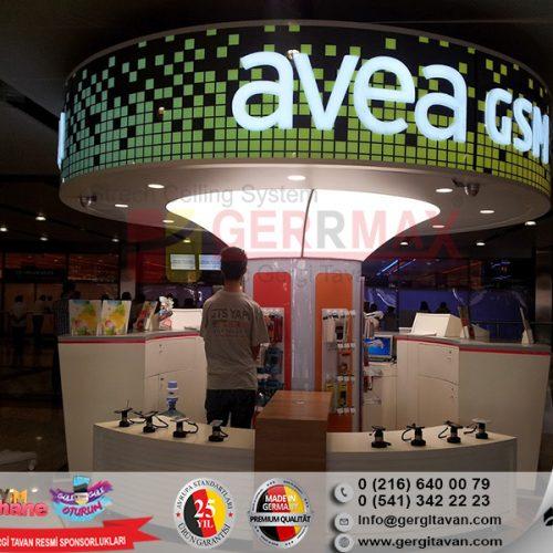 Avea Sabiha Gökçen Havalimanı Gergi Tavan Projesi
