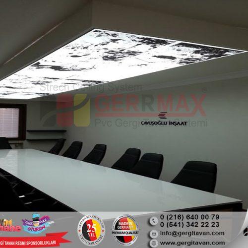 Çavuşoğlu İnşaat İstanbul Işıklı Gergi Tavan Projesi