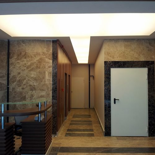 İstanbul Bahçelievler Gönen Otel Gergi Tavan Projesi