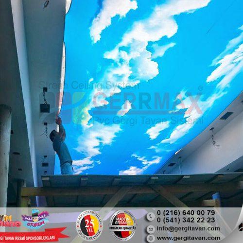 Ramada Otel Azerbaycan Işıklı Gergi Tavan Projesi