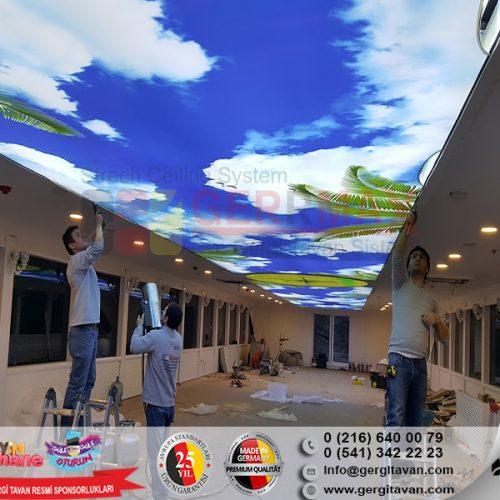 Selamet Tur Beykoz Gemi Gergi Tavan Projesi