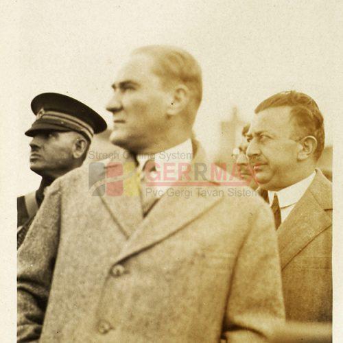 Atatürk Gergi Tavan Görselleri