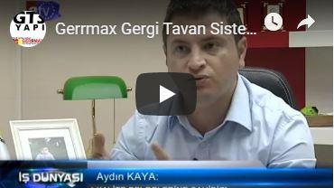 Gerrmax Gergi Tavan Sistemleri - Germe Tavan - Barisol Tavan